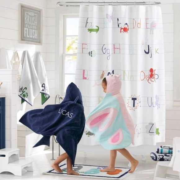 Pottery Barn Kids ABC Shower Curtain M 5c1009043c98445551eb9bd7